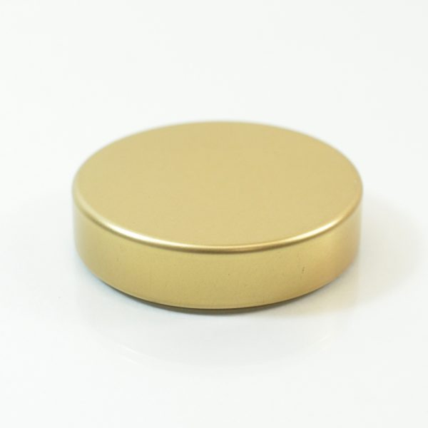 Tin Cap 45-400 Unishell Smooth Straight Sided Gold-Gold_1744