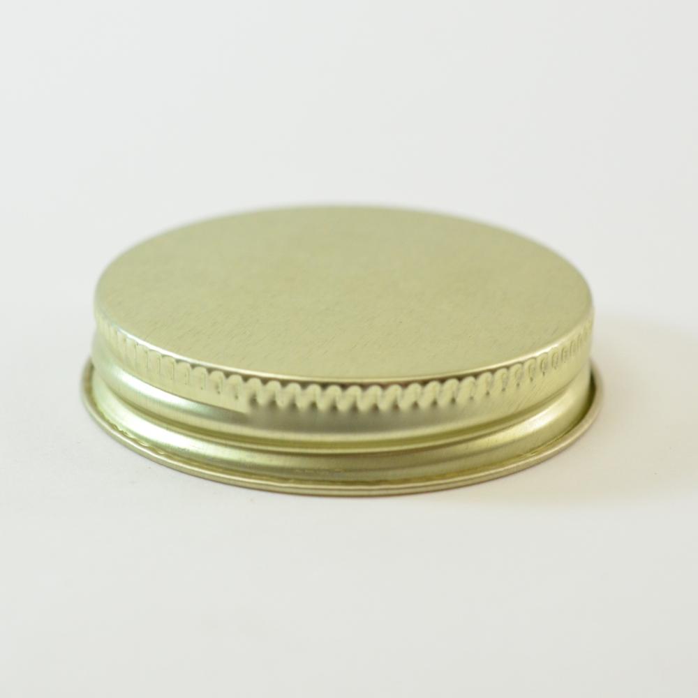 48/400 CT Gold Gold Metal Continuous Thread Caps
