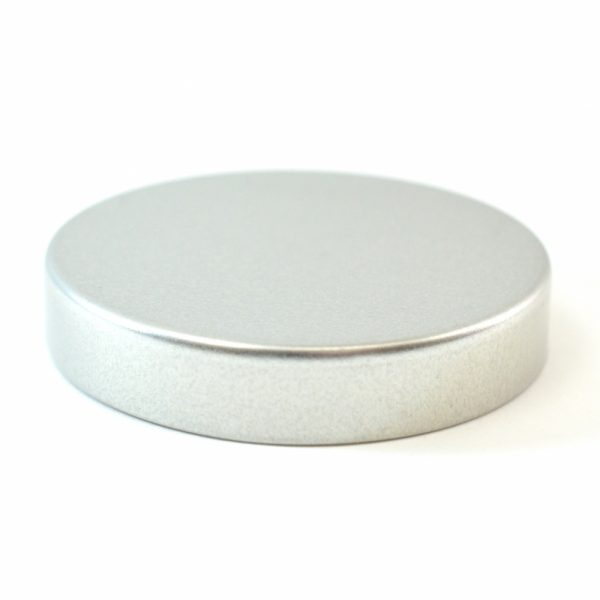 Tin Cap 53-400 Unishell Smooth Straight Sided Silver-Silver_1749