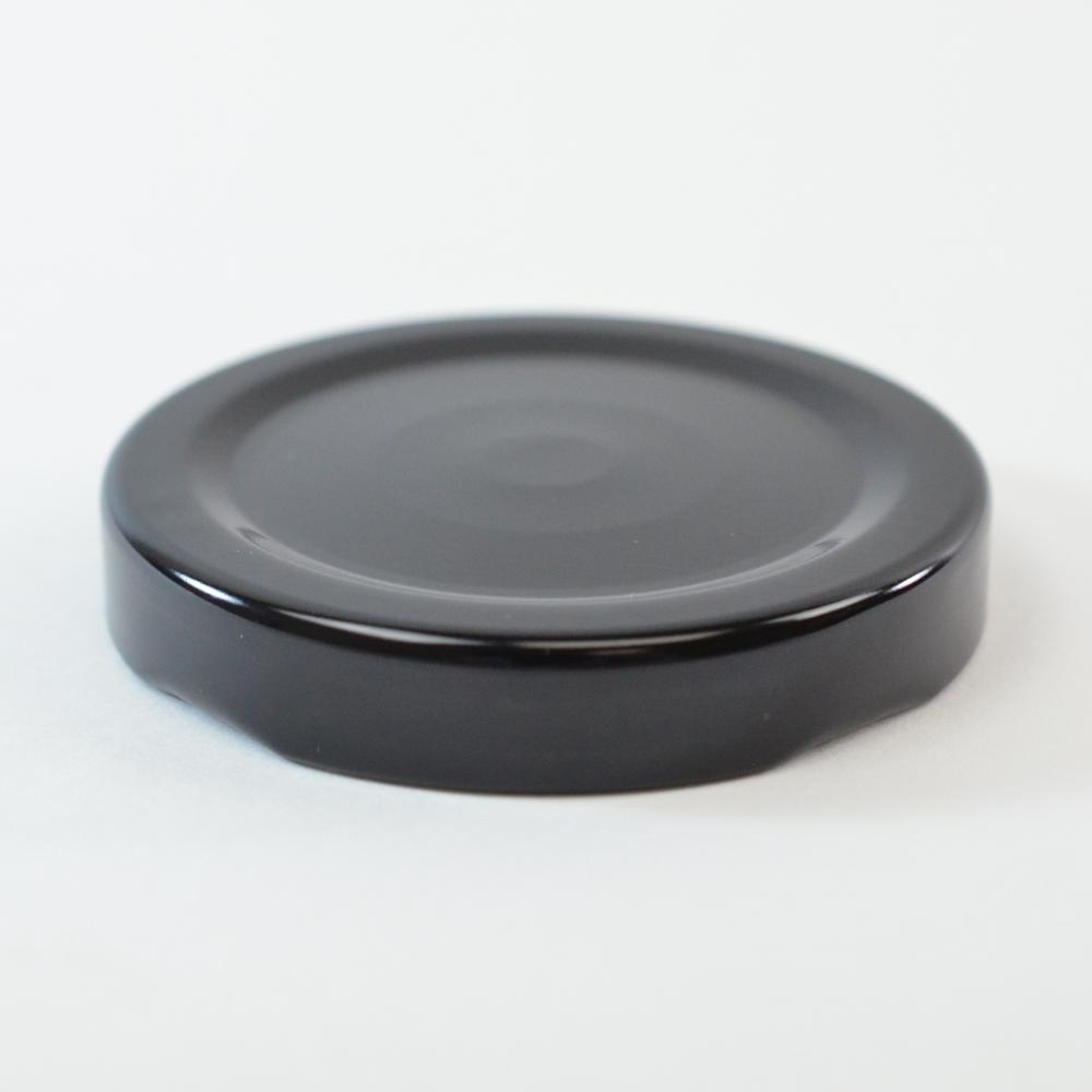 53/2020 Regular Twist Open with Button Black Metal Cap / Plastisol Liner