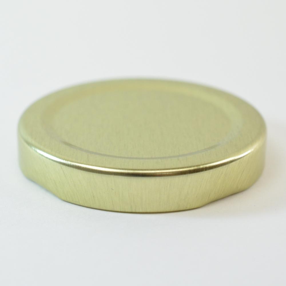 53/2020 Regular Twist Open Gold Metal Cap / Plastisol Liner
