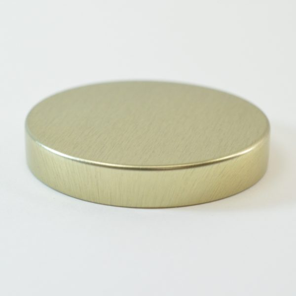 Tin Cap 58-400 Unishell Smooth Straight Sided Gold-Gold_1750