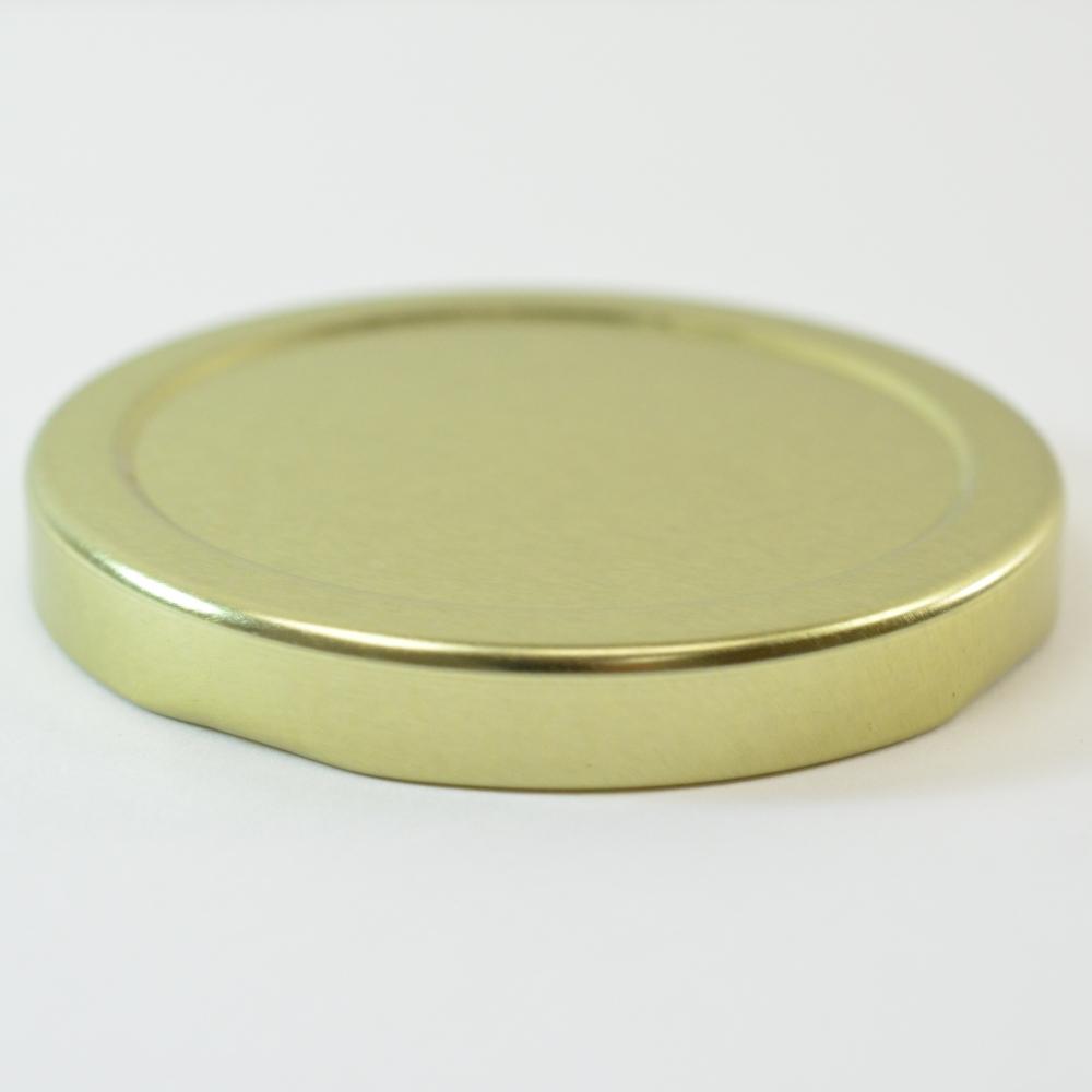 58/2020 Regular Twist Open with Button Gold Metal Cap / Plastisol Liner