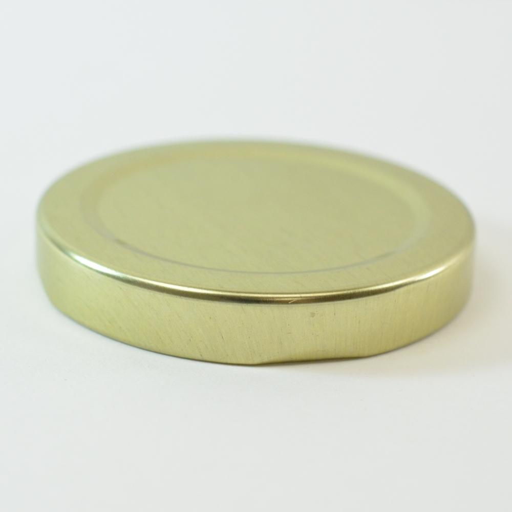 58/2020 Regular Twist Open Gold Metal Cap / Plastisol Liner