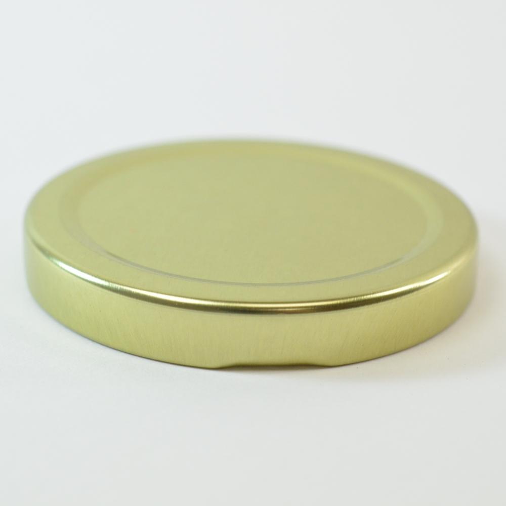 63/2030 Regular Twist Open Gold Metal Cap / Plastisol Liner