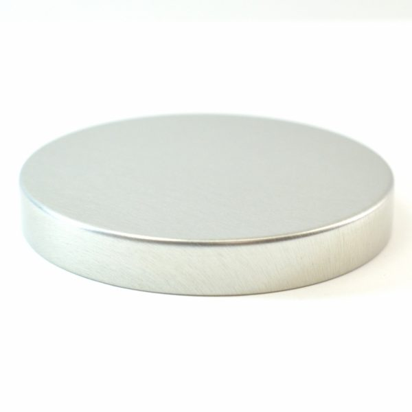 Tin Cap 70-400 Unishell Smooth Straight Sided Silver-Silver_1754
