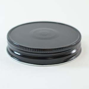 Tin Cap 70G-450 Black-White with Button_1760