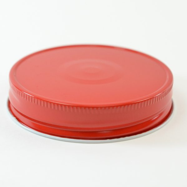 Tin Cap 70G-450 Red-White with Button_1764