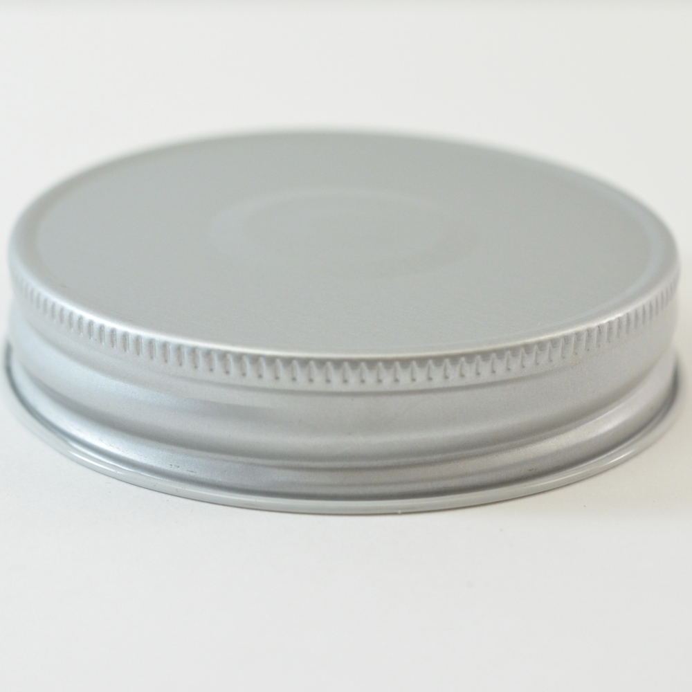 70G-450 Silver with Button Metal Cap with Plastisol Liner