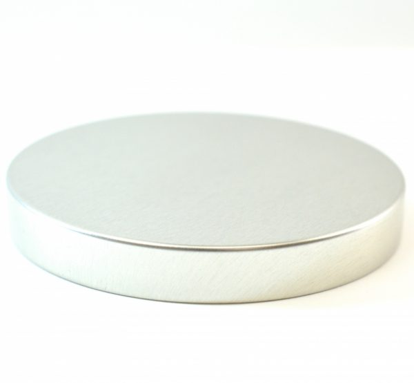 Tin Cap 89-400 Unishell Smooth Straight Sided Silver-Silver_1756