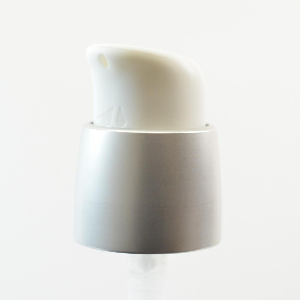 18/400 Treatment Pump Aria Head Matte Silver/White
