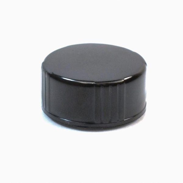 20-400 Black Phenolic Foam Lined Cap_2154