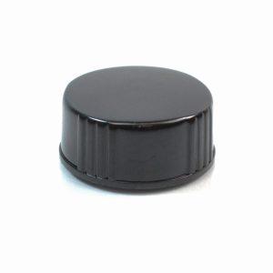 24-400 Black Phenolic Cone Lined Cap_2253