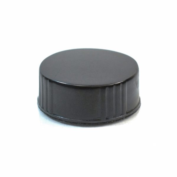28-400 Black Phenolic Foam Lined Cap_2310