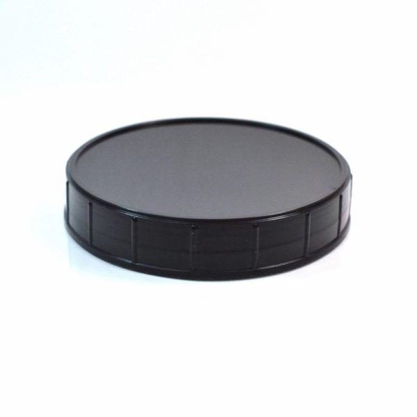 89-400 Black Wide Ribbed Deep Skirt Lid_2898