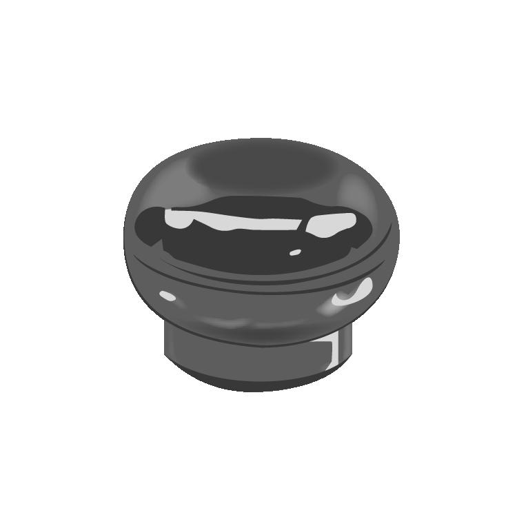 13/415 Silver Metalzied Eclipse Cap F217