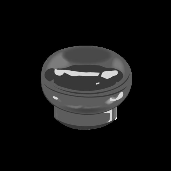 Compression Molded Eclipse Bottle Cap_2058