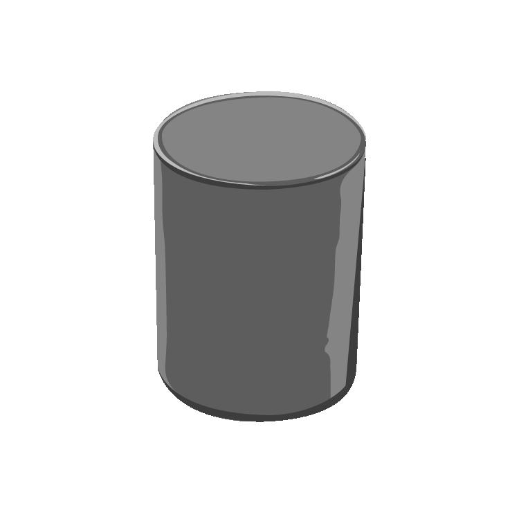13/415 Black Phenolic X Tall Cap F217