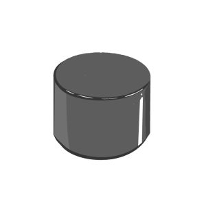 Compression Molded Straight Sided Bottle Cap_2100