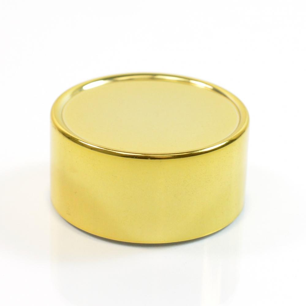 48/400 Shiny Gold Metal Overshell Royal Tall Cap F217 1.85 x .873