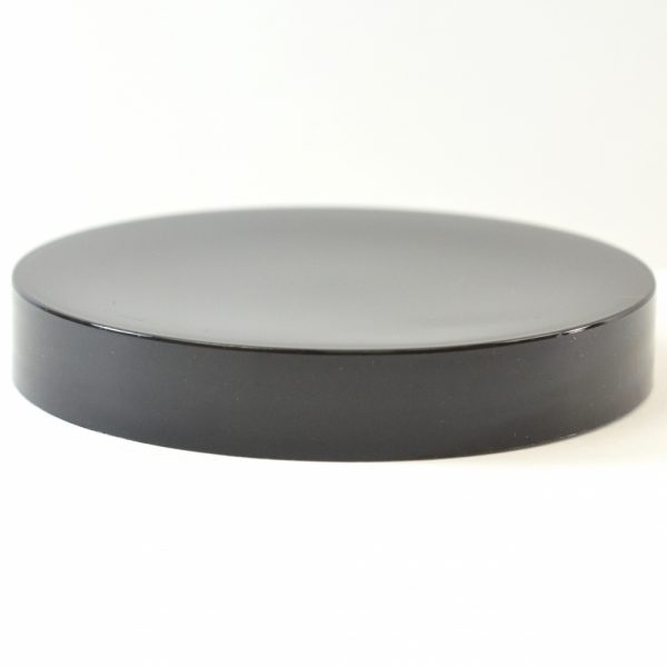 Plastic Cap 120mm Smooth Black_2769