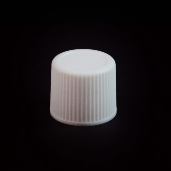Plastic Cap 15-415 Ribbed White_2773