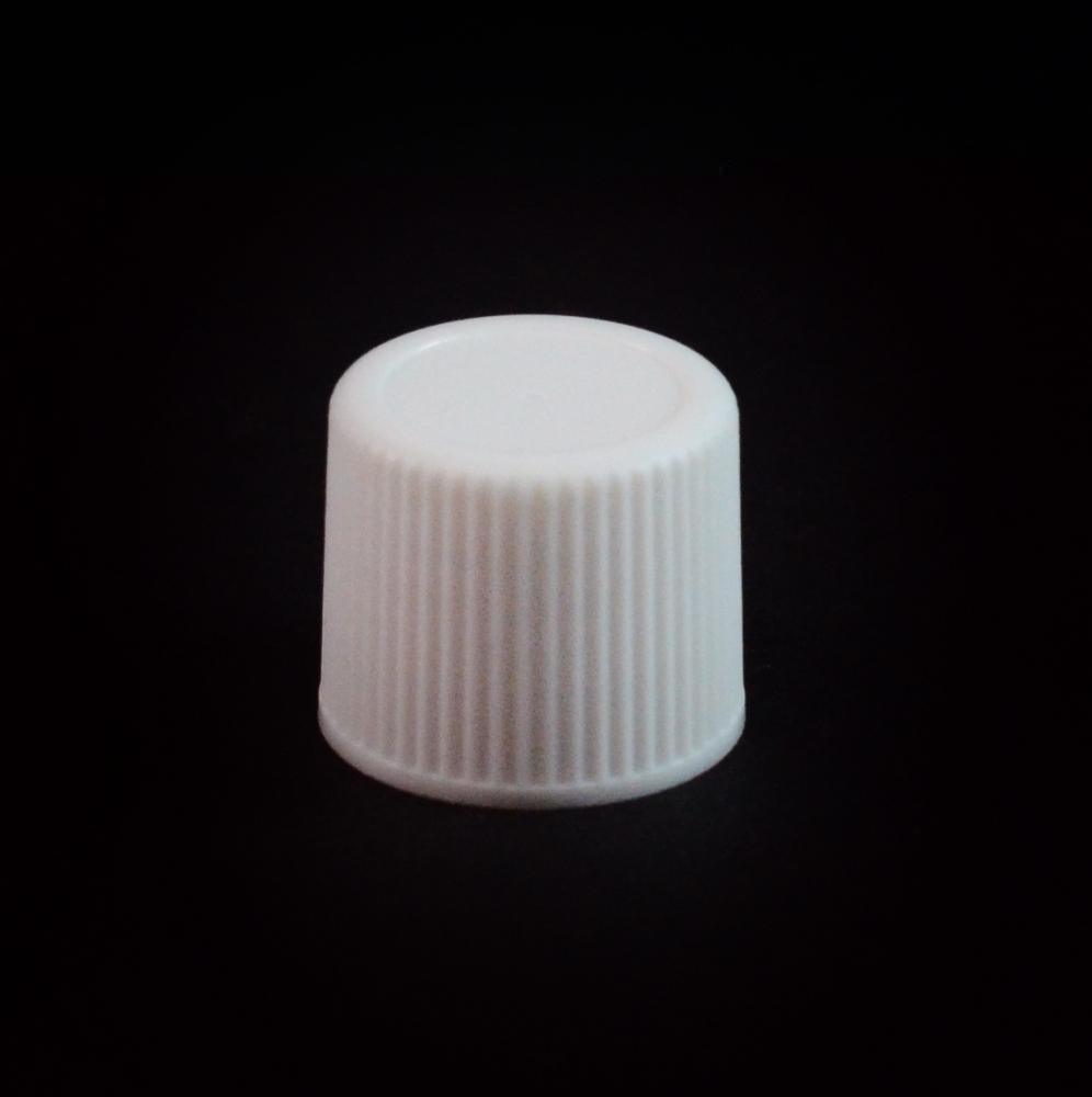 15/415 White Ribbed Straight PP Cap / F217 Liner