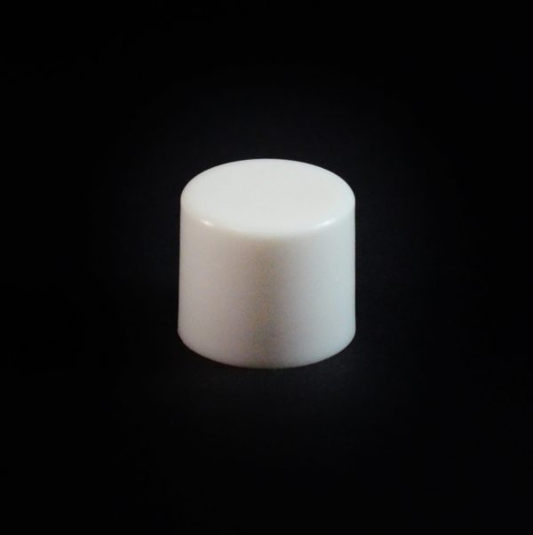 Plastic Cap 15-415 Smooth White_2642