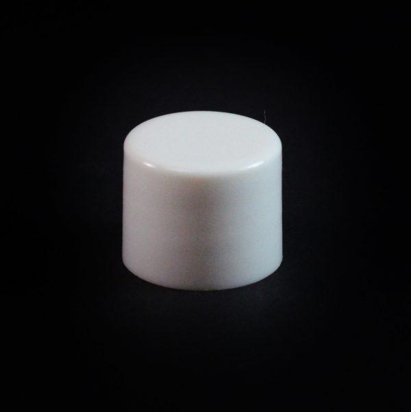 Plastic Cap 18-415 Smooth White_2644