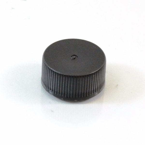 Plastic Cap 20-400 RMX Black Ribbed_2846