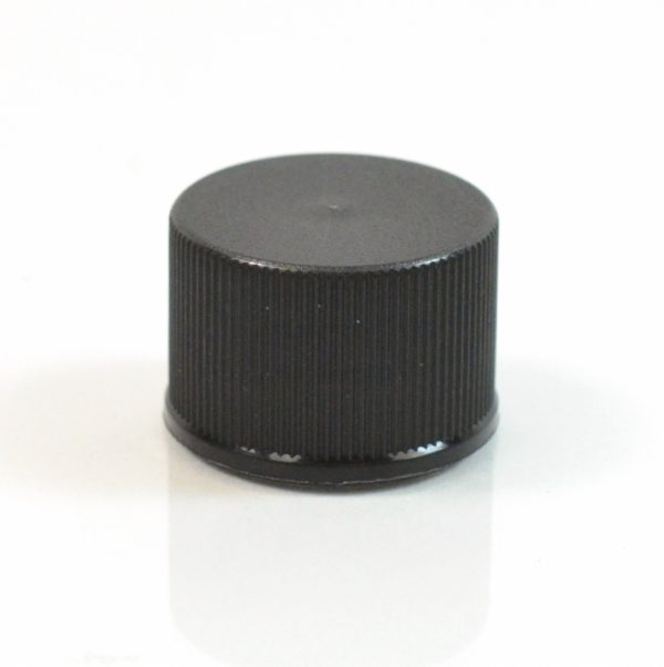 Plastic Cap 20-410 Ribbed Black_2849