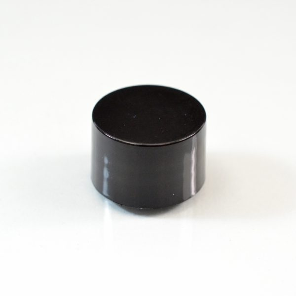 Plastic Cap 20-410 Smooth Black PP_2715