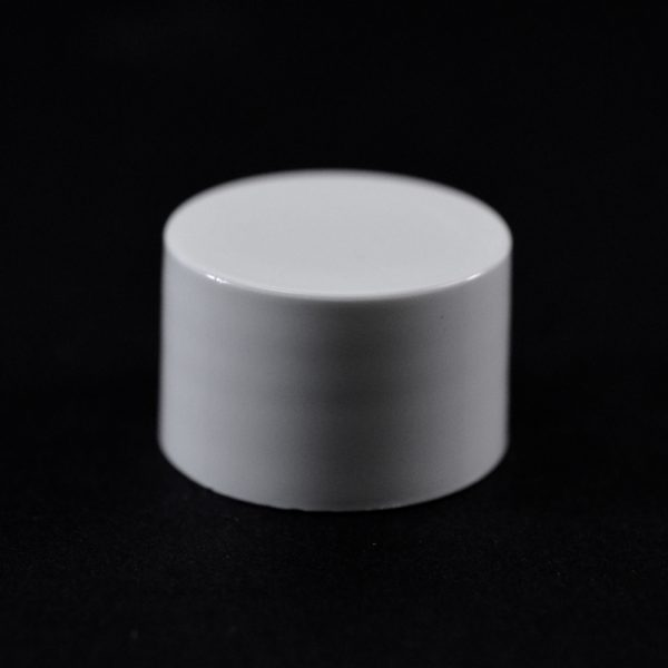 Plastic Cap 20-410 Smooth White PP (1)_2649