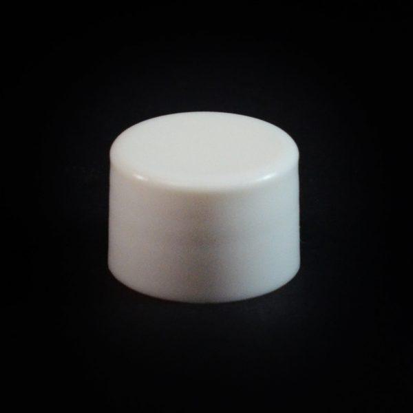 Plastic Cap 20-410 Smooth White_2648