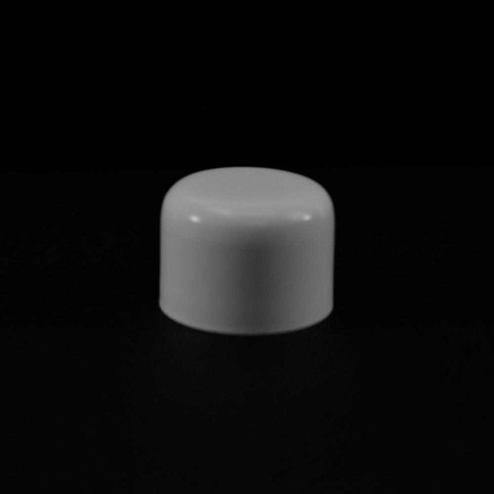 20/410 White Soft Shoulder Symmetrical Cap to 1 oz