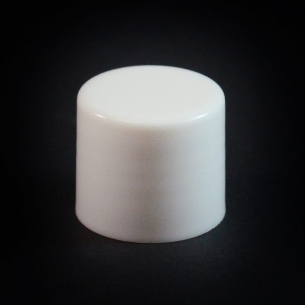 Plastic Cap 20-415 Smooth White_2650