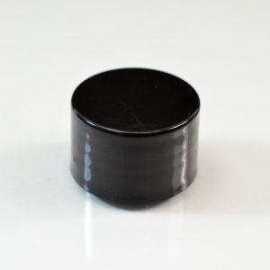 Plastic Cap 24-410 Smooth Black PP_2725