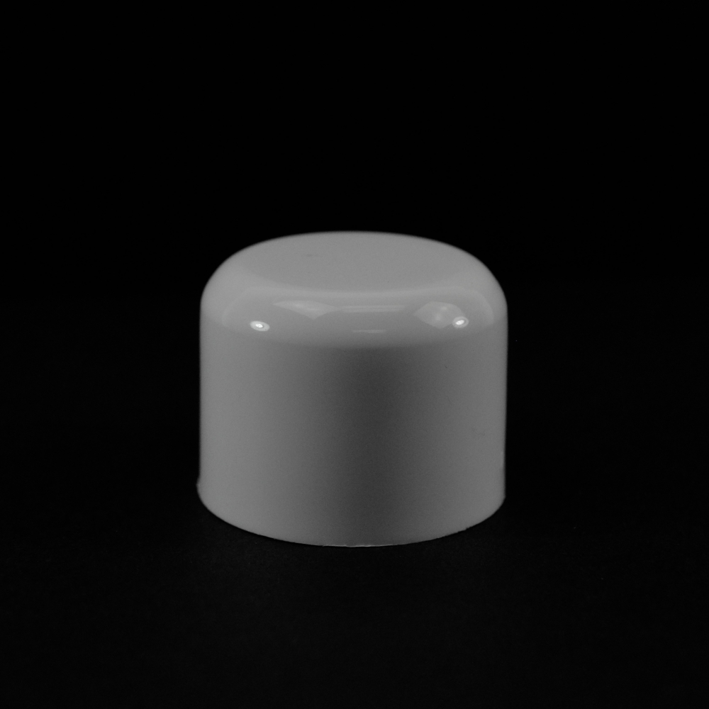24/410 White Soft Shoulder Symmetrical Cap to 2 oz