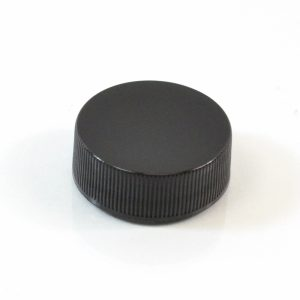 Plastic Cap 28-400 RS Black Ribbed_2862
