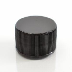 Plastic Cap 28-410 Ribbed Black_2863