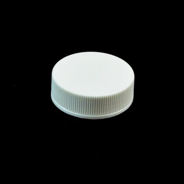 Plastic Cap 33-400 RMX White Ribbed_2800