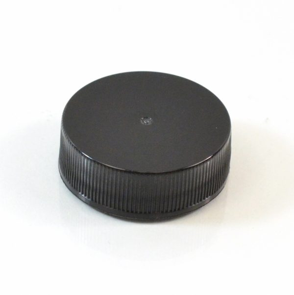 Plastic Cap 33-400 RS Black Ribbed_2866