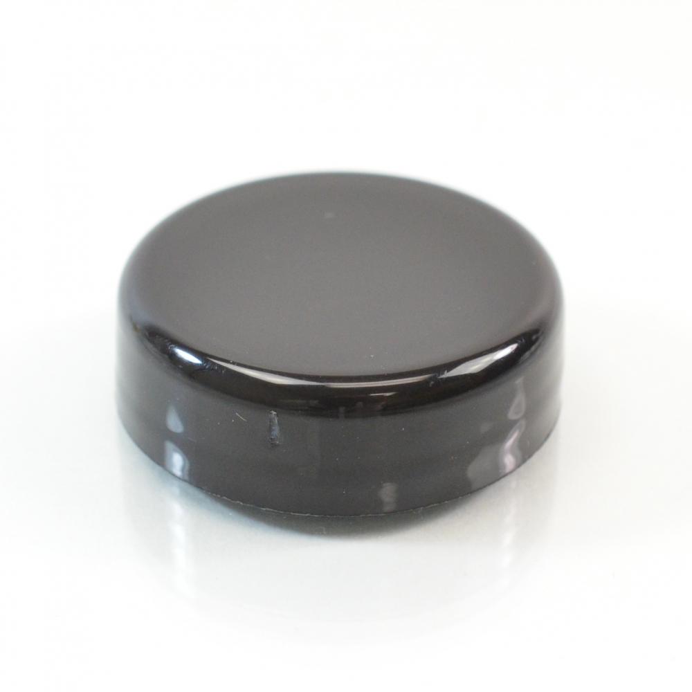 33/400 Black Dome PP Unlined Cap