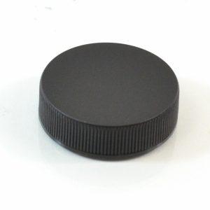 Plastic Cap 38-400 RMX Black Ribbed_2869