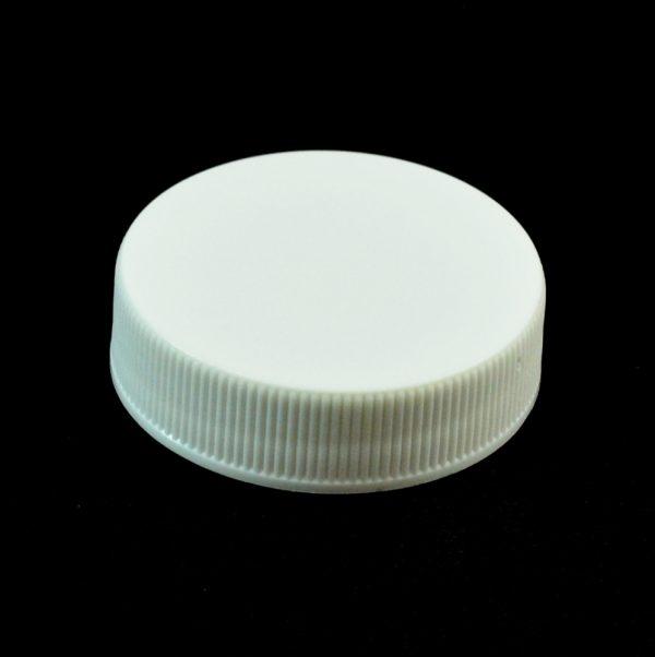 Plastic Cap 38-400 RMX White Ribbed_2801