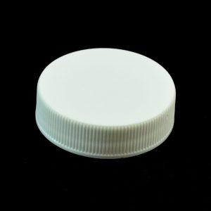 Plastic Cap 38-400 RMX White Ribbed_2802