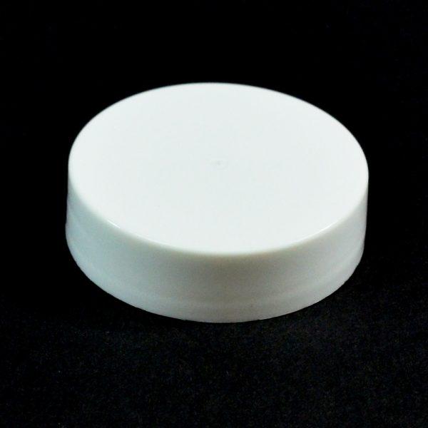 Plastic Cap 38-400 S White Smooth_2666