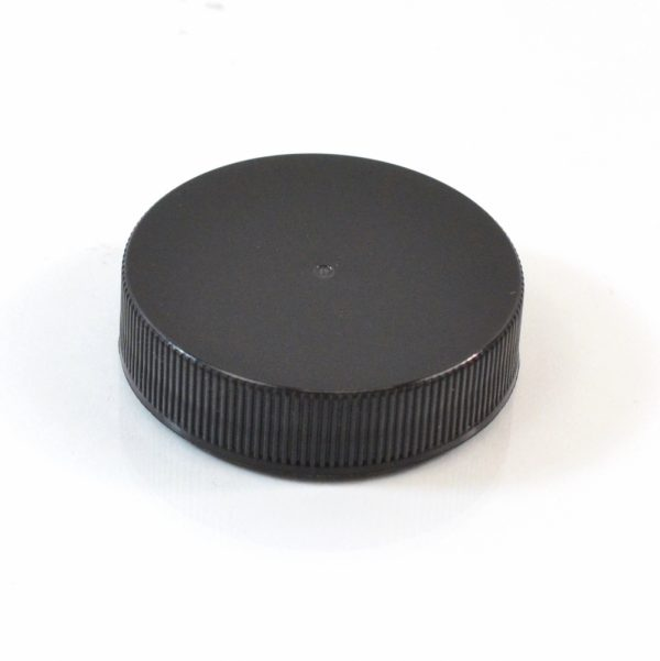 Plastic Cap 43-400 RS Black Ribbed_2872