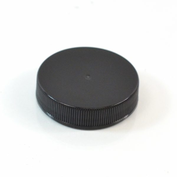 Plastic Cap 45-400 RS Black Ribbed_2876
