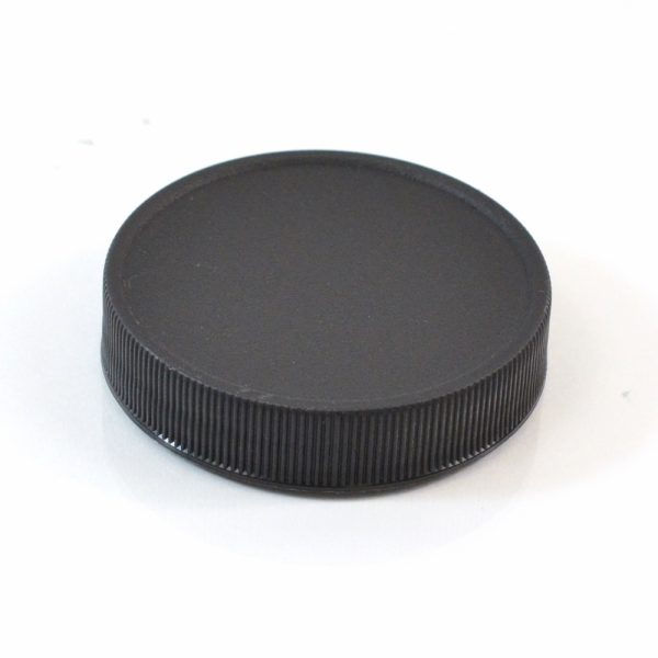Plastic Cap 53-400 RM Black Ribbed_2881